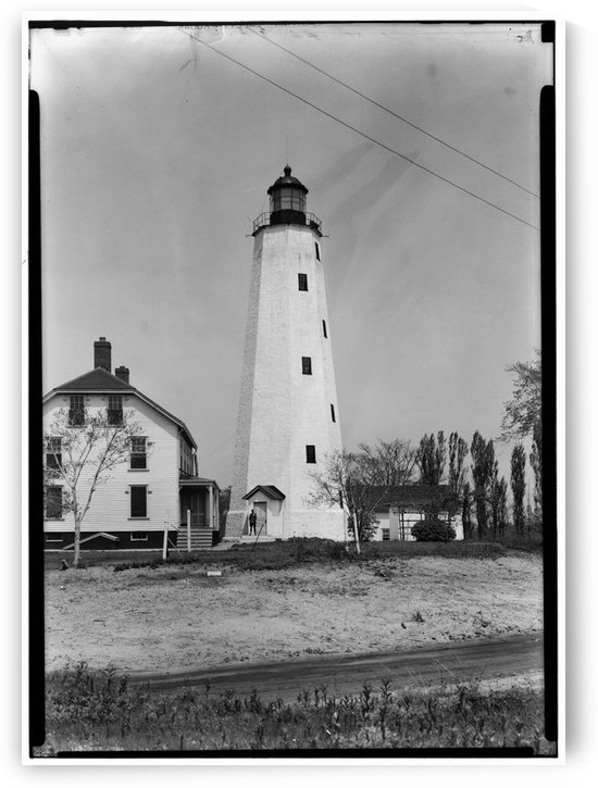 Sandy-Hook-Lighthouse-New-Jersey by Stock Photography