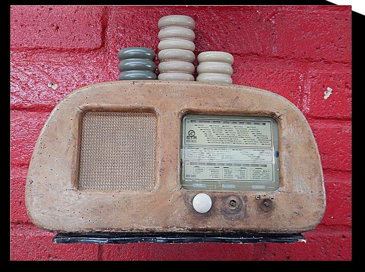 Vintage GTM Radio by Dorothy Berry-Lound