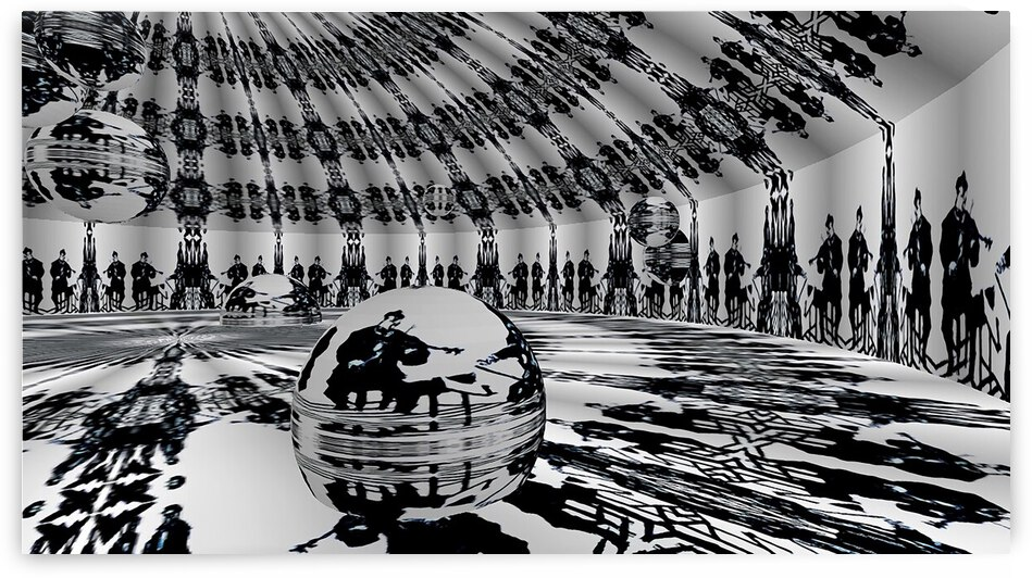 Chamber Jazz RoomXpander Roulette Wheel by Lowell Phoenix Devin