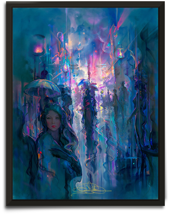 Night Street by John Pitre