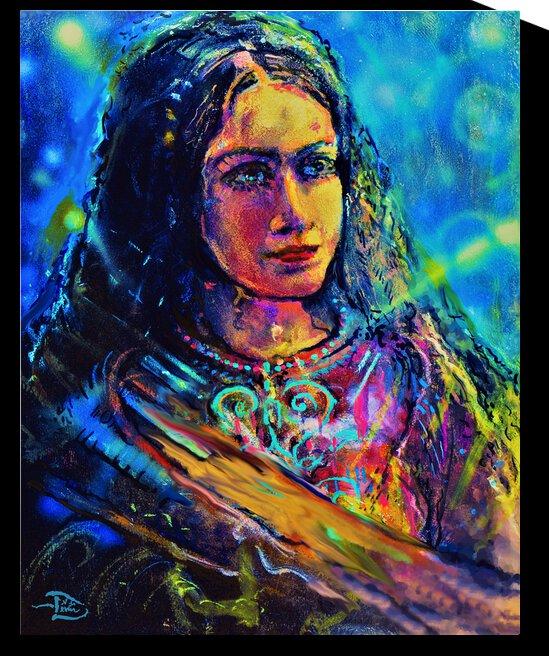 Milky Way Princess by Lowell Phoenix Devin