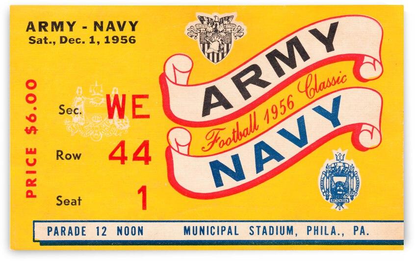 1956 Army vs. Navy by Row One Brand