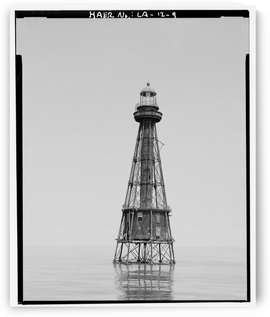 Ship-Shoal-Light-Station-Lousiana by Stock Photography