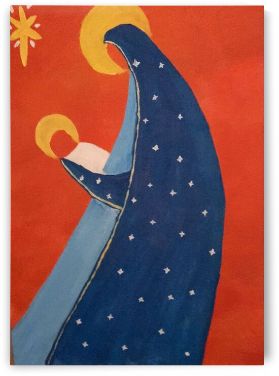 Virgin Mary and Baby Jesus  R.Code 10.10.2020 by Bui Quoc Huy Gallery