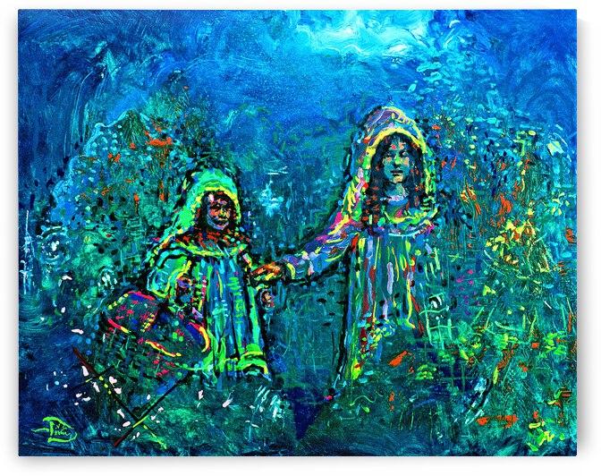 The Healing Garden  by Lowell Phoenix Devin