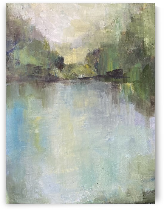 Abstract pond by Cene
