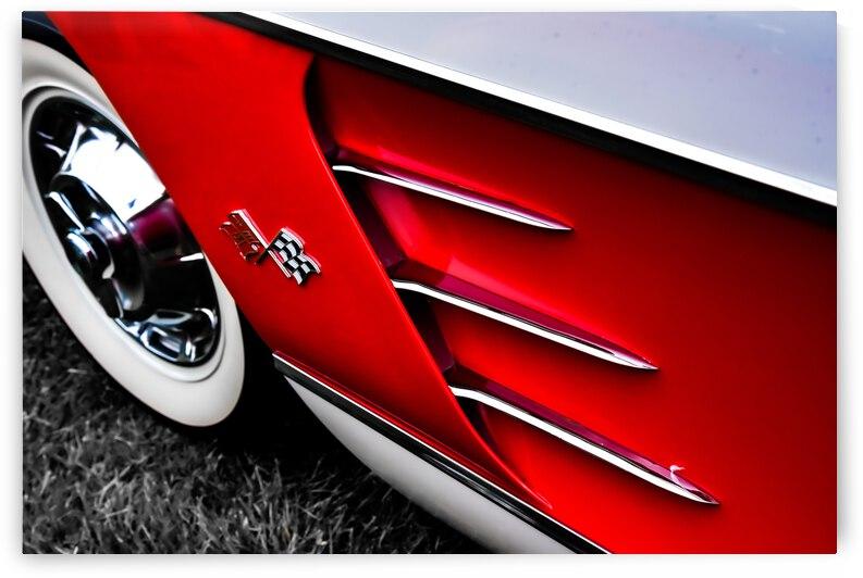 Vintage 1956 Corvette by John Myers