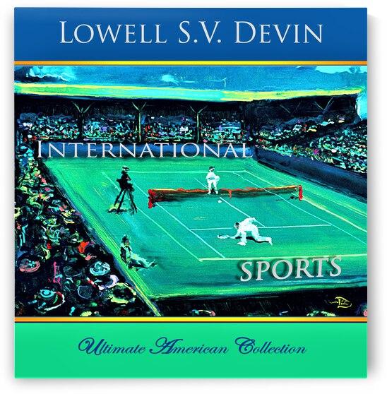 Devin Intl Sports UAC Show Poster by Lowell Phoenix Devin
