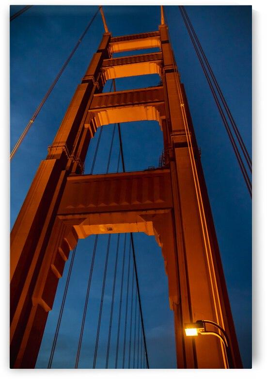 Golden Gate Bridge Tower by Gary Geddes