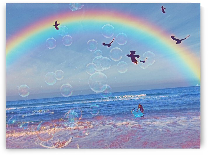 somewhere over the rainbow  by Magicifa  Ifat Porat