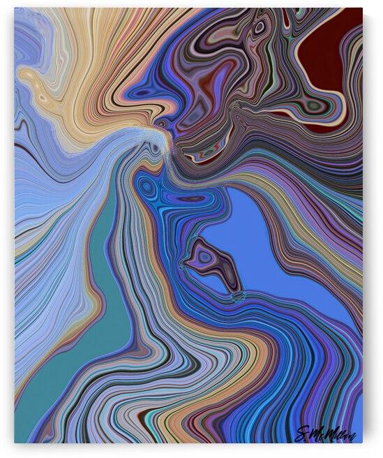 Oil on Water by Susanne McMillan