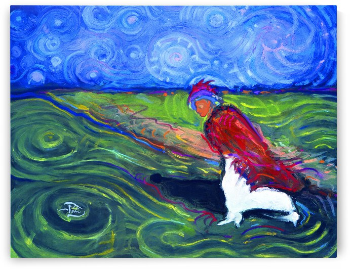 Starry Daye Pacing West by Lowell Phoenix Devin