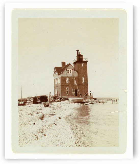 Unknown-Lighthouse-Duluth-Minn by Stock Photography