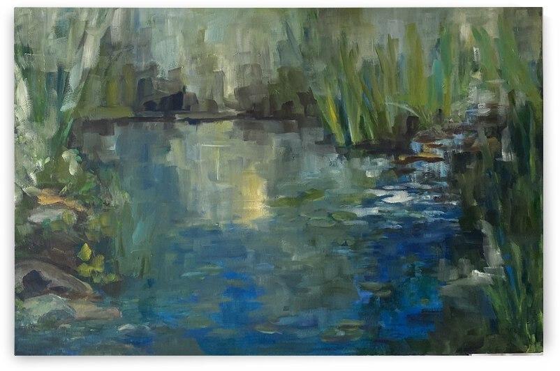 Garden pond by Cene