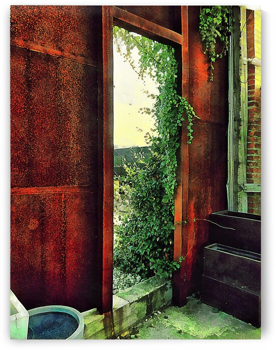 The Overgrown Doorway by Dorothy Berry-Lound