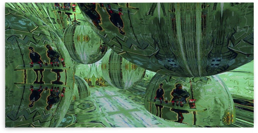 Emerald City RoomXpander tm Underground Hideaway by Lowell Phoenix Devin