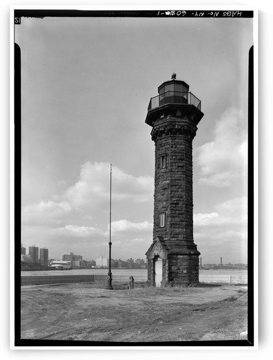 Welfare-Island-Lighthouse-NY by Stock Photography