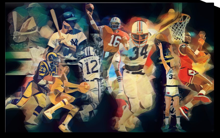 American Sports Legends  by Row One Brand