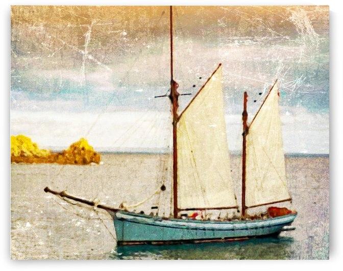 TEA ISLAND TRYPTIC by Nancy Calvert