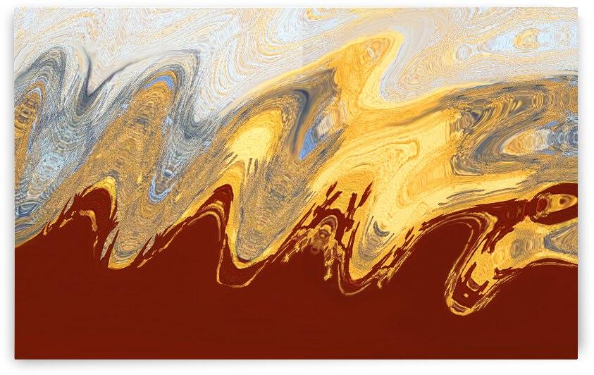 Plains Escape Wave Trek by Lowell Phoenix Devin
