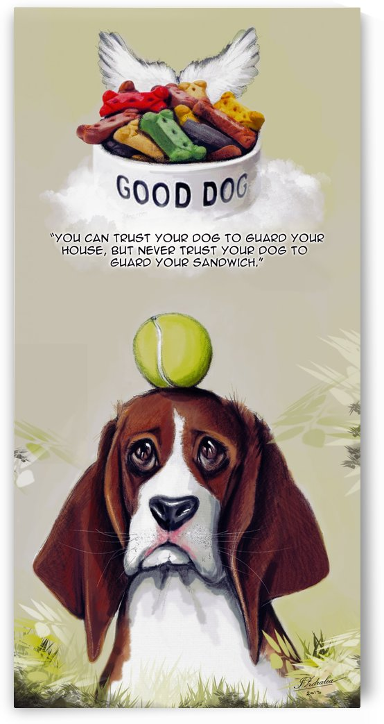Beagle Quote by Ioana Zdralea