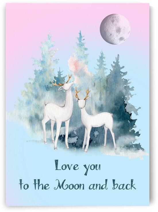 love 2 the moon by Magicifa  Ifat Porat