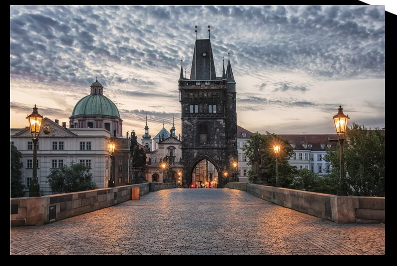 Early Morning In Prague by Manjik Pictures
