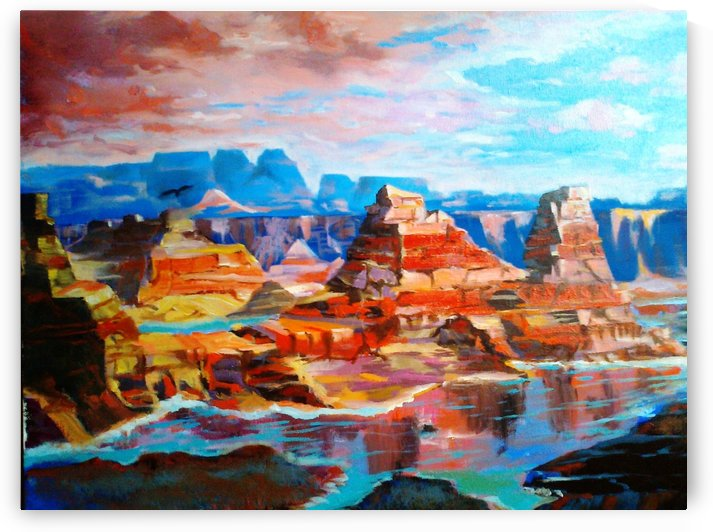 Grand Canyon in the fresh morning light by Budai George