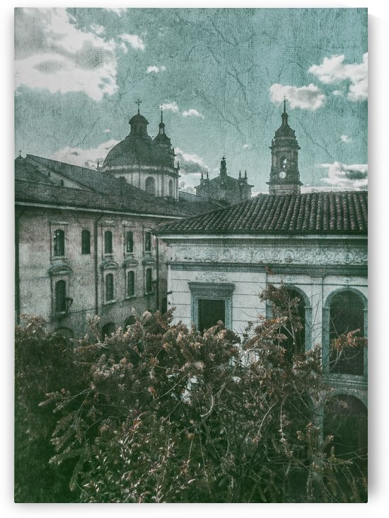 Colonial Architecture at Historic Center of Bogota Colombia by Daniel Ferreia Leites Ciccarino
