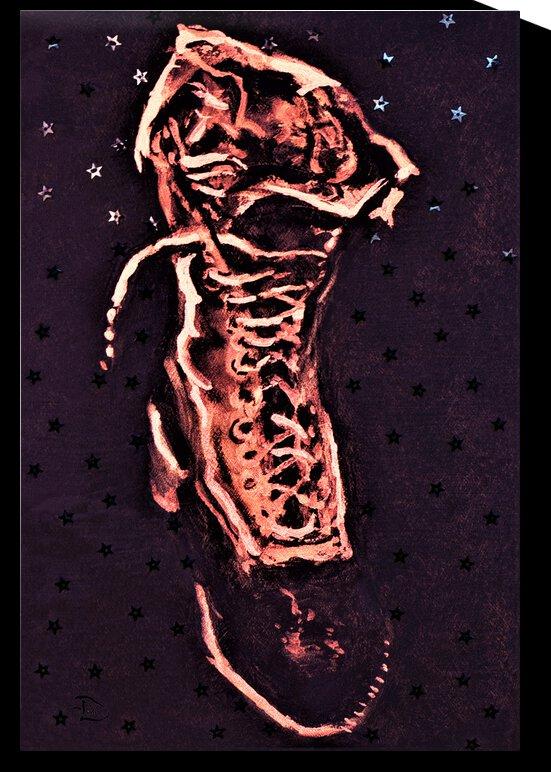 Starry Boot by Lowell Phoenix Devin