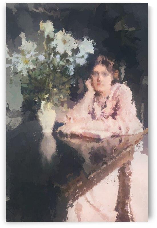 Woman Old Times by Busra Tutaysalgir