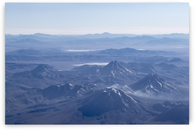 Window Plane View of Andes Mountains by Daniel Ferreia Leites Ciccarino