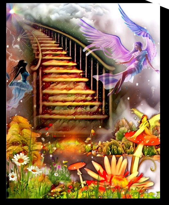 STAIRWAY TO ECSTASY by Kaye Baby
