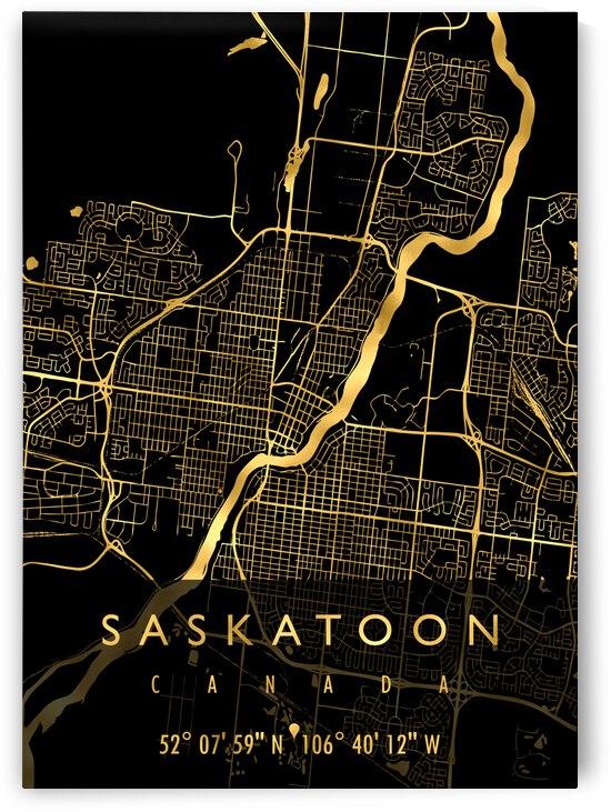 SASKATOON MAP CANADA by Mapolis