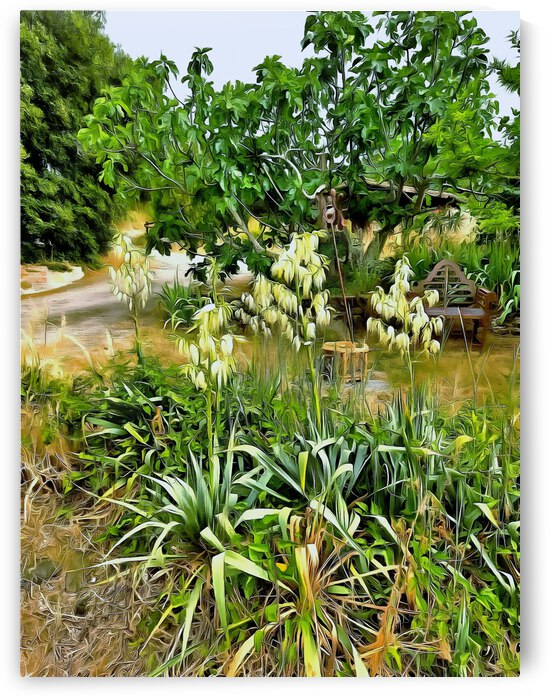 Flower Spikes in Early Summer by Dorothy Berry-Lound