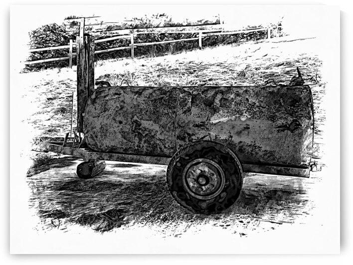 Farm Trailer by Dorothy Berry-Lound