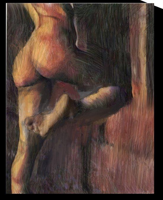 Escape of Magdalena by G P Litvak