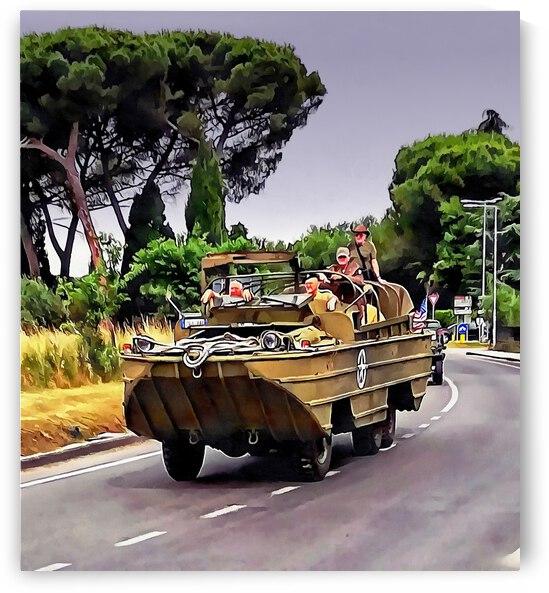 DWUK Amphibious Vehicle by Dorothy Berry-Lound