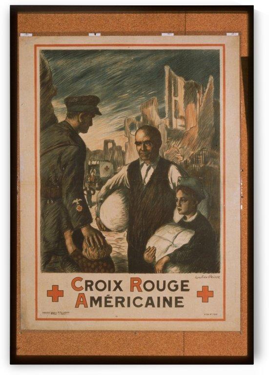 Vintage---American-Red-Cross by VINTAGE POSTER