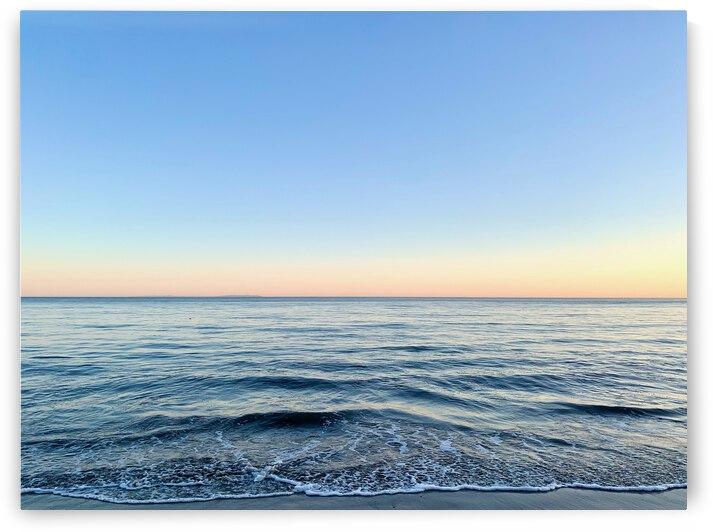 Ripples of Calm - Malibu CA by Caroline Batoff