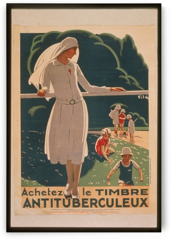 Vintage---Anti-Tuberculosis by VINTAGE POSTER