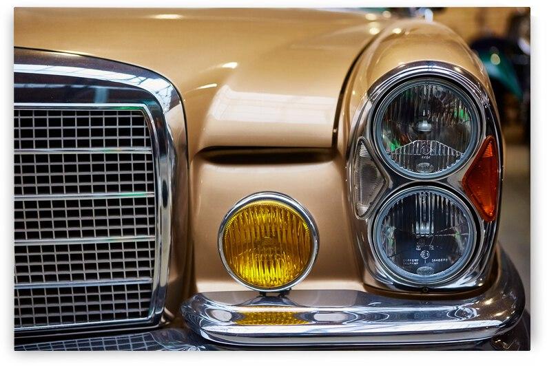 detail classic car closeup headlight 3  by GrapyArt