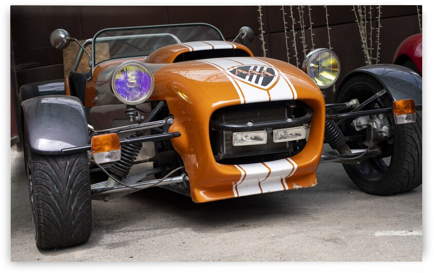 old classic racing retro car old cars mechanics kharkiv park 07 06 2021 kharkiv oblast ukraine by GrapyArt