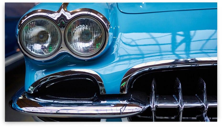 detail classic car closeup headlight 2  by GrapyArt