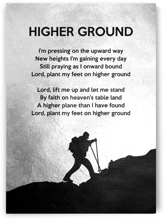 Higher Ground Hymn Oatman by ABConcepts