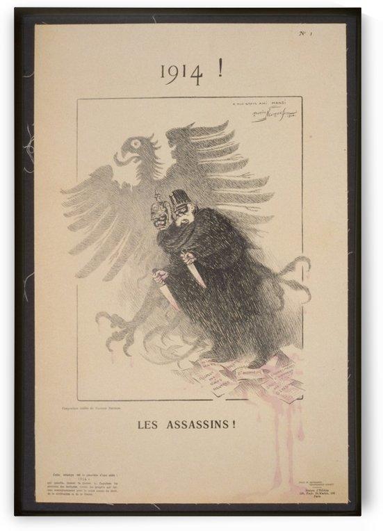 Vintage---Assassins by VINTAGE POSTER