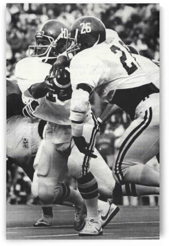 1982 Alabama Football Walter Lewis and Ricky Moore  by Row One Brand