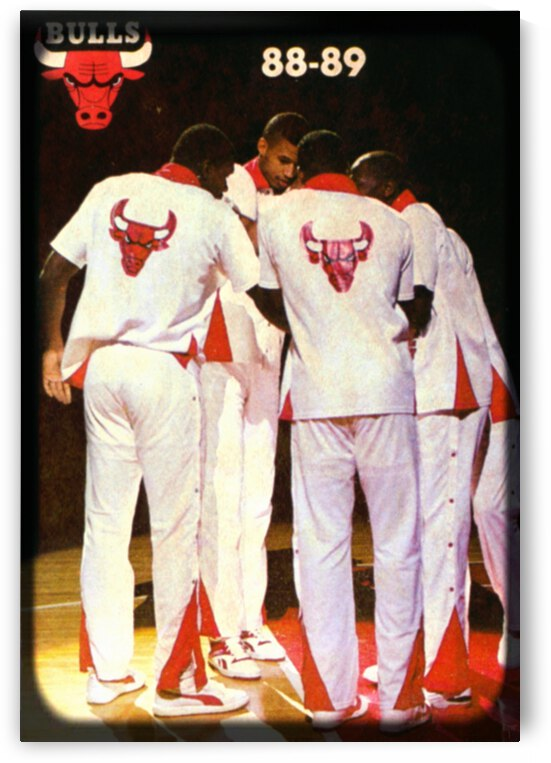 1988 Chicago Bulls Viewfinder Slide Art by Row One Brand