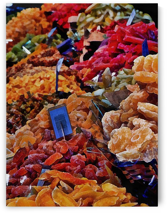 Abstract of Dried Fruit by Dorothy Berry-Lound