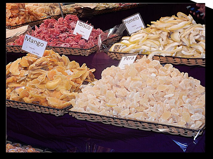 Dried Fruits With Name Tags in Italian by Dorothy Berry-Lound
